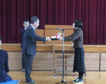 守山市立中洲小学校へのiPad寄贈(画像)
